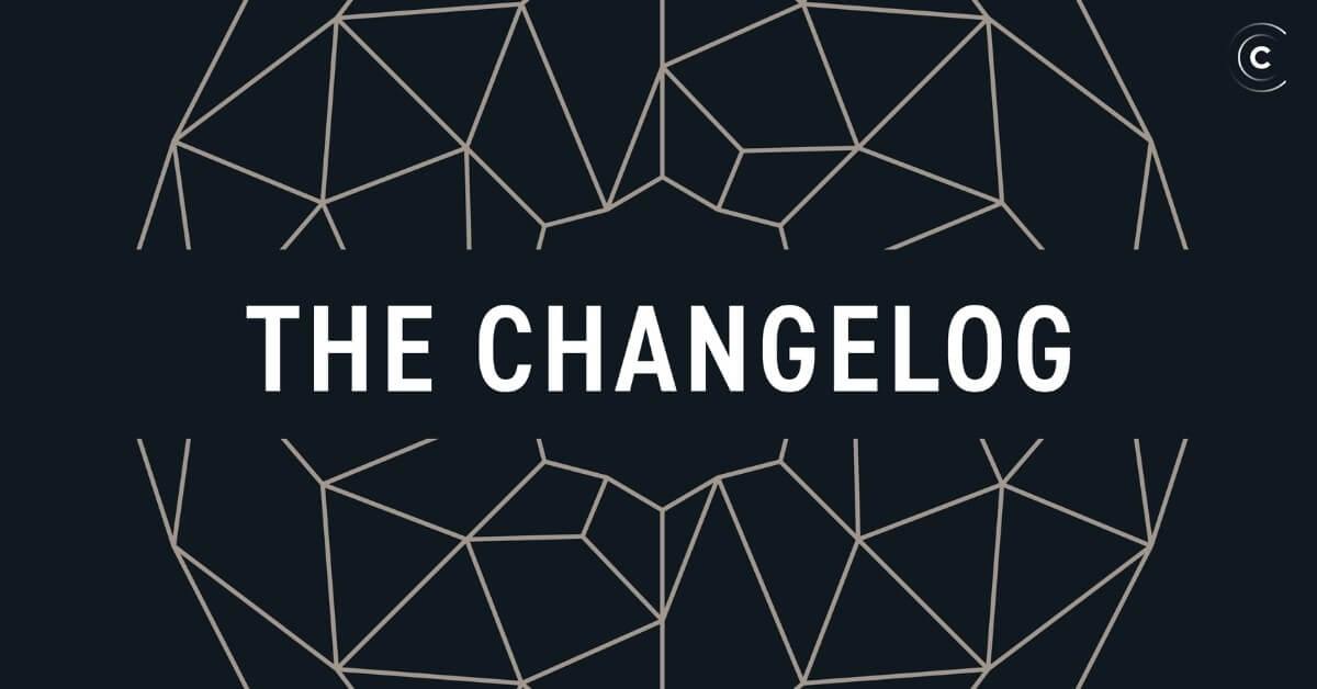 change log podcasts album art