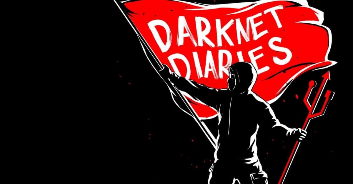 Darknet Diaries tech podcast album art