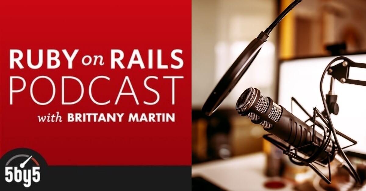 ruby on rails podcasts album art