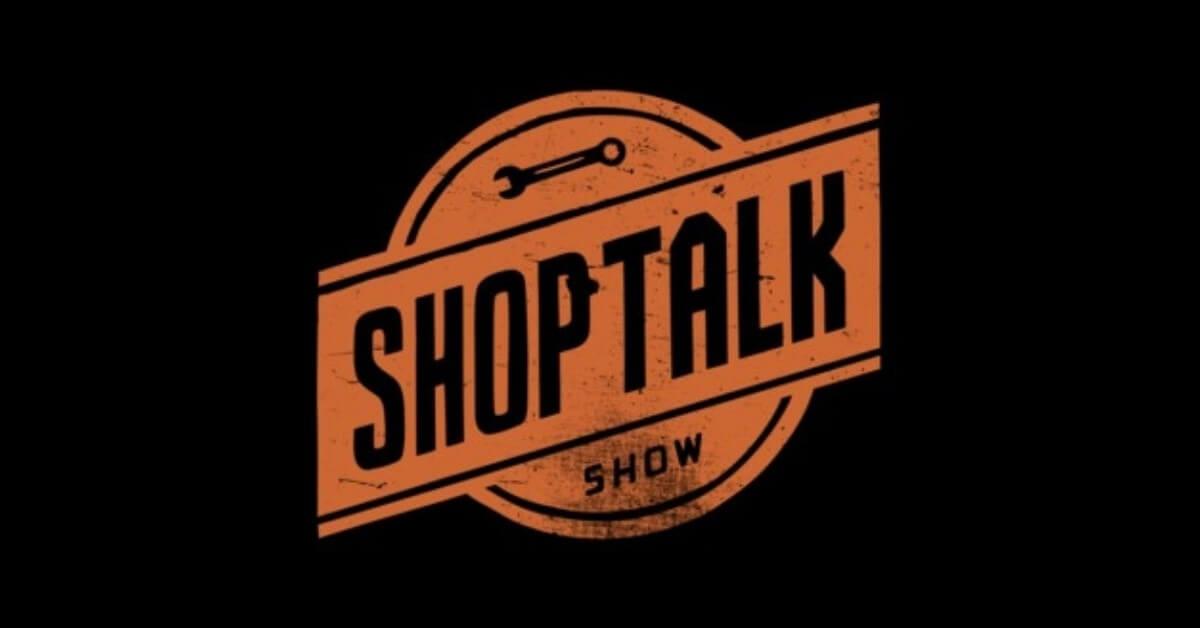 shop talk podcasts album art