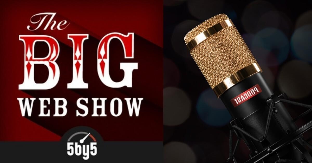 The big web show podcasts album art