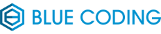 Blue Coding's Logo in color