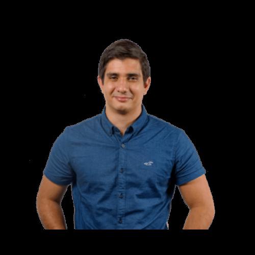 Headshot of David Hemmat CEO of Blue Coding