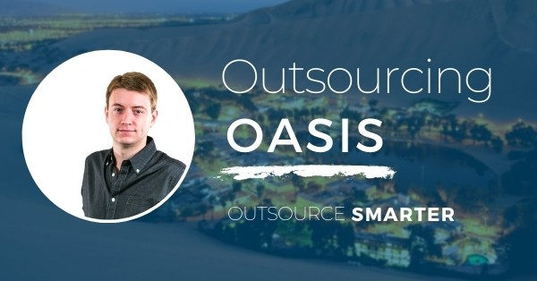 Outsourcing Oasis Building your Business with Outsourcing featuring Rory Laitila. Episode 2 (image)