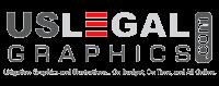 US legal graphics logo