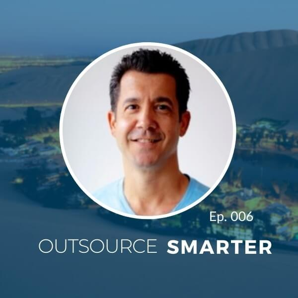 The Outsourcing Oasis Podcast by Blue Coding featuring COO of First Factory Don Gregory
