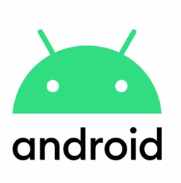 Hire Android developers, a small white square showing the Android logo