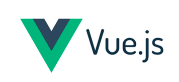 Hire Vue developers, a small white square showing the Vue logo