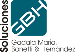 Logo of Blue Coding's client Soluciones GBH