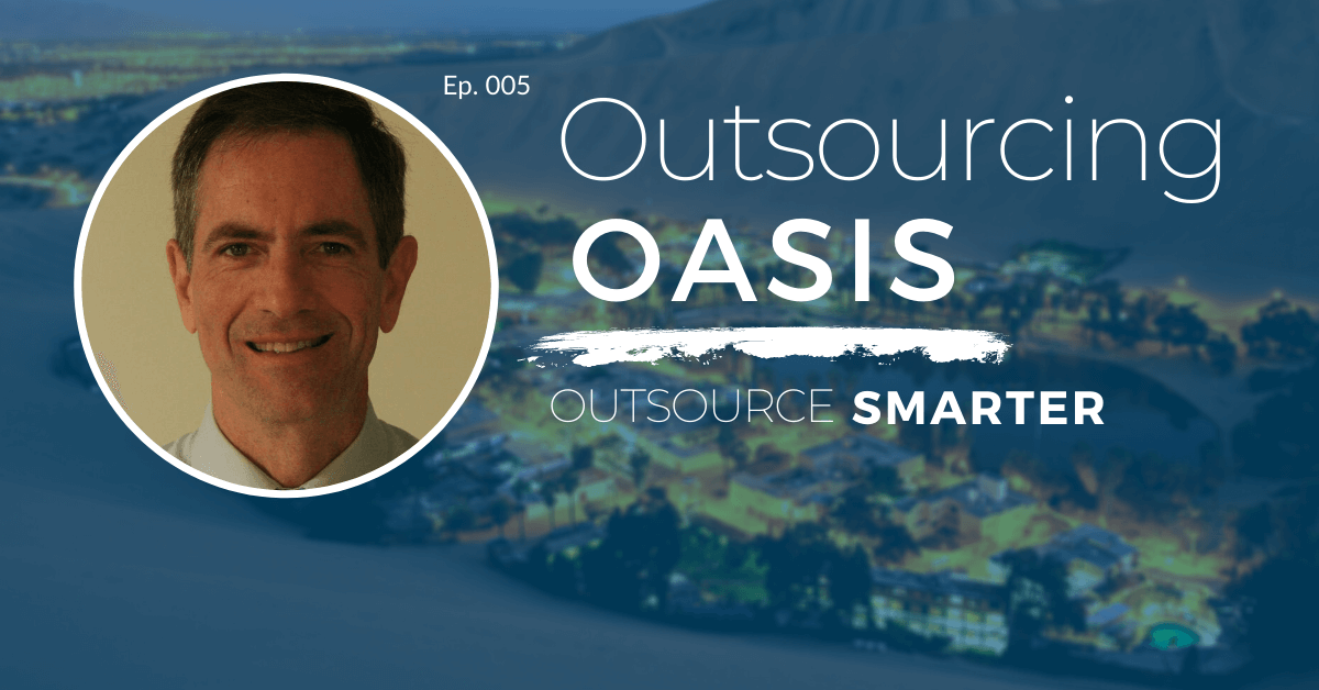 Outsourcing Oasis featuring Matt Bader, CEO of Exam Master