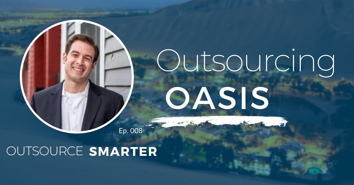 The Outsourcing Oasis Podcast featuring president of Spark Shipping Charles Palleschi